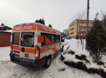 Kto zniszczył ambulans? Wyznaczono nagrodę