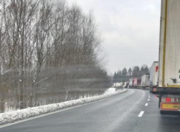 Uwaga kierowcy! Korek na trasie Żory-Rybnik