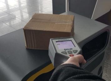 Napromieniowana przesyłka na lotnisku w Pyrzowicach. W środku biżuteria