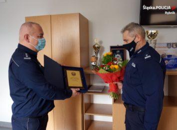 Podinspektor Wiesław Dryja nowym komendantem policji w Wodzisławiu Śląskim