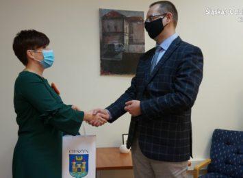 Pożegnanie Pierwszego Zastępcy Komendanta Powiatowego Policji w Cieszynie