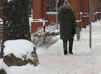 Śnieg na drogach i chodnikach. Co na ten temat mówią mieszkańcy regionu? [SONDA]