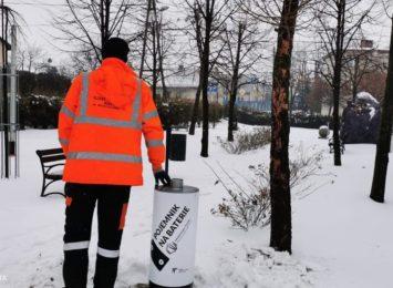 Pojemniki na zużyte baterie w Wodzisławiu zgodnie z ideą