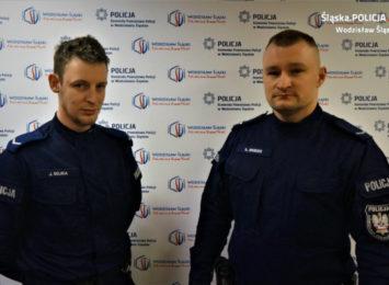 Policjanci z Radlina pomogli. Uratowali mężczyźnie życie