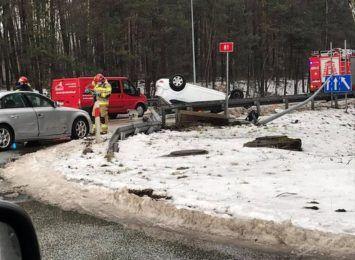 Kierowcy, uważajcie! Wczoraj (19.02.) wypadki w Żorach i Turzy