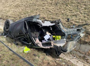 Wiemy więcej na temat wczorajszego wypadku na autostradzie A1. Kto kierował?