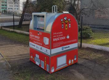 """Specjalne pojemniki na elektrośmieci stanęły w Rybniku. To projekt """"Elektryczne Śmieci"""""""