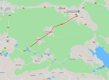 Uwaga kierowcy zamknięto drogę między Jankowicami a Rudami