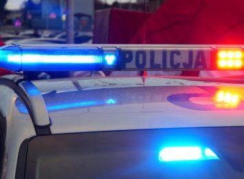 Pijany motocyklista zatrzymany po pościgu. 35-latek nie posiadał uprawnień do kierowania pojazem