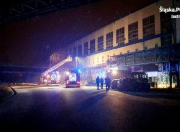 Policja w Jastrzębiu pisze o akcji w elektrociepłowni
