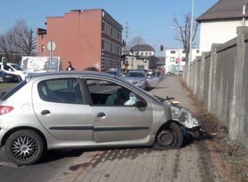 Policyjny pościg za pijanym kierowcą na Przemysłowej w Rybniku