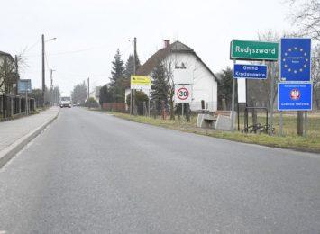 Koniec remontu granicznej drogi w Rudyszwałdzie