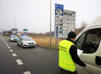 Wsparcie dla śląskiego oddziału Straży Granicznej