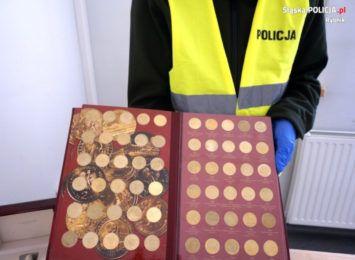 Zatrzymany za kradzież monet i zegarków w Rybniku. Mężczyzna przyznał się do winy [FOTO]