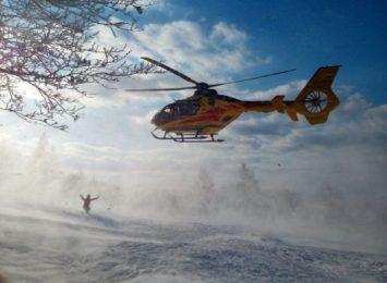 Pracowity weekend dla GOPR-u w Beskidach. Doszło do 55 wypadków na stokach narciarskich i 7 w górach [FOTO]