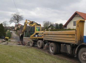 Przebudowa ulicy Kwiatowej w Jarząbkowicach, w gminie Pawłowice