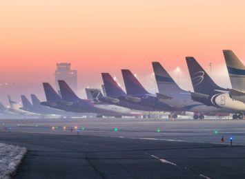 Statystyki ruchu pasażerskiego na Katowice Aiport. ''Lotniska zmagają się z kryzysem wywołanym przez pandemię''