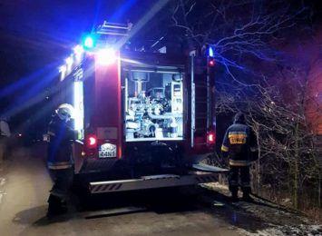 Pożar w Rogowie. Zapaliła się sadza