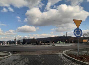 Uwaga kierowcy! Utrudnienia na rondzie na ulicy Wodzisławskiej w Mszanie