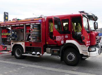 Potrawa pozostawiona na kuchence przyczyną pożaru w Żorach