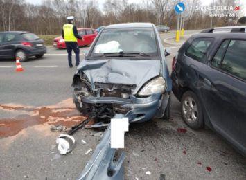 Wypadek na obwodnicy Jastrzębia-Zdroju [FOTO]