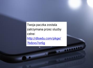 Uwaga na SMS o zatrzymanej paczce! To próba oszustwa