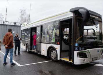 W Jastrzębiu-Zdroju testują autobus elektryczny, jeszcze przez 2 dni