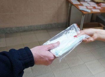 Darmowe maseczki dla mieszkańców Jastrzębia-Zdroju