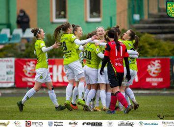 Piłkarki nożne TS ROW Rybnik wygrały pierwszy mecz w ekstralidze kobiet
