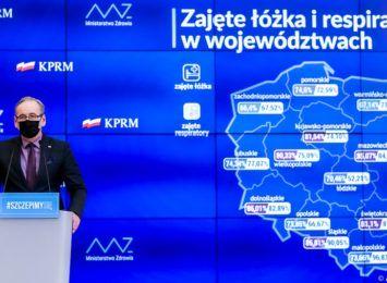 Obostrzenia zostają przedłużone do 18 kwietnia. Minister Niedzielski odniósł się do sytuacji w województwie śląskim