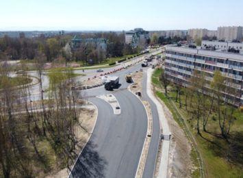 Kolejny etap budowy ronda w Jastrzębiu-Zdroju. Bedą zmiany w kursowaniu autobusów
