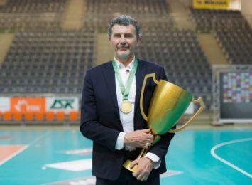 Jastrzębski Węgiel przedłużył kontrakt z trenerem Andreą Gardinim