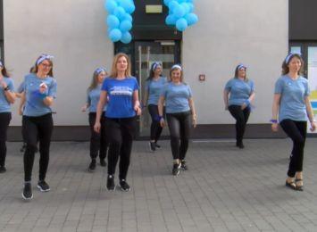 Jerusalem dance challenge na Światowy Dzień Świadomości Autyzmu w Radlinie