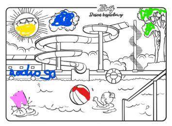 Miejskie kolorowanki. Jastrzębie proponuje zajęcie dla najmłodszych