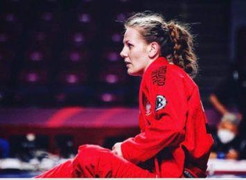 Brązowy medal Sandry Pniak na Mistrzostwach Europy w Grapplingu
