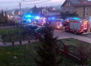 Pożar w Wodzisławiu-Zawadzie. Nie żyją dwie osoby