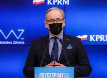 Minister telefonem przypomni o szczepieniu