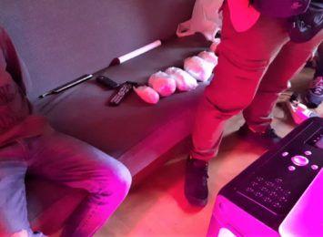 Hodowla marihuany w szafie. Narkotyki w mieszkaniu pseudokibica z Knurowa