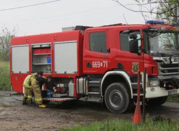 Kolejna burza w regionie, kolejne wezwania o pomoc do strażaków [WIDEO]