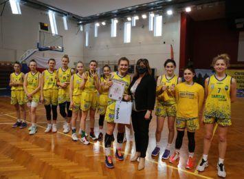 Koszykarki RMKS-u Rybnik nie awansowały do półfinału MP U17