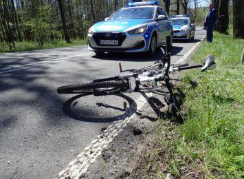 Potrącenie rowerzysty w Kamieniu. Wiemy więcej o niedzielnym wypadku