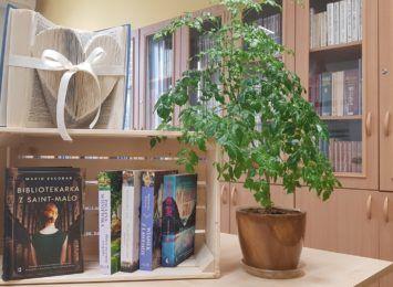 Książka na weekend. Biblioteka z Pawłowic zachęca do czytania