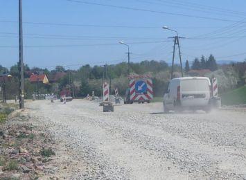 Remont DW 933 w Pawłowicach. Jak idą prace? Jak długo jeszcze?