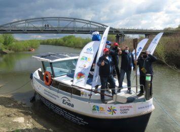 W Raciborzu wypłynęli w rejs po polskich rzekach. Będą promować Krainę Górnej Odry [WIDEO]