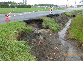 Starostwo w Wodzisławiu Śląskim zinwentaryzowało zniszczenia na drogach powiatowych