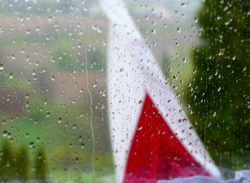 Deszczowa ta majówka!