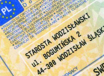 Wodzisław: Odbiór dowodów rejestracyjnych czy praw jazdy tylko w urzędzie, już nie przyjdą pocztą