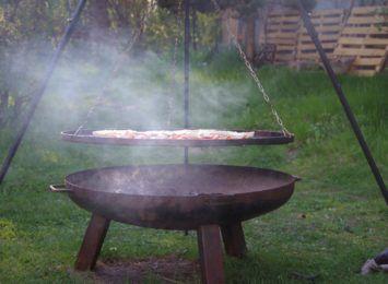 Pożar w Jastrzębiu-Zdroju. Ogień wywołany przez... grilla