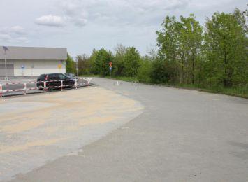 Na przejściu granicznym w Cieszynie-Boguszowicach wydzielono miejsce do kontroli