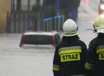Alarm przeciwpowodziowy w powiecie raciborskim. W powiecie wodzisławskim zebrał się sztab kryzysowy